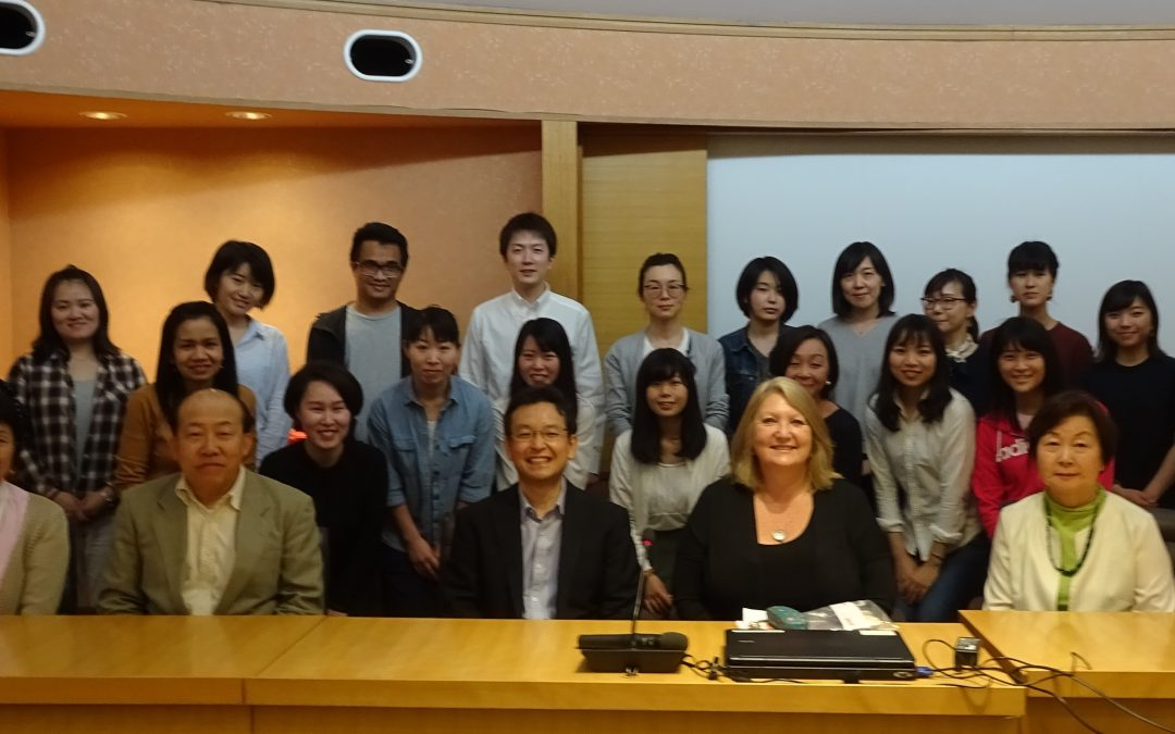Osaka University – Julie Paul Guest Lecturer – May 2019 – Division of Health Sciences, Graduate School of Medicine